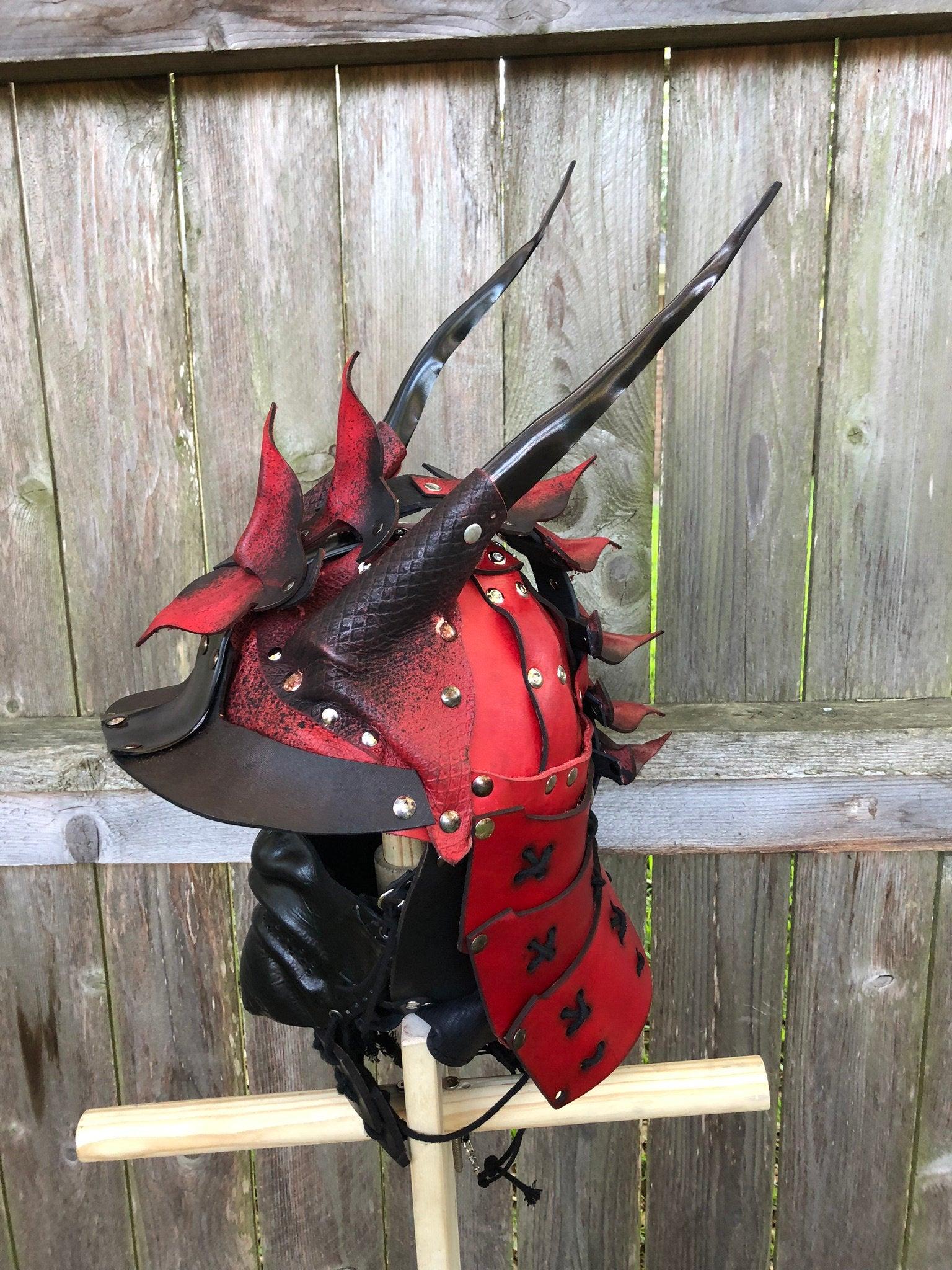 Samurai Helmet Chair Chisel